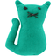 Small cat hair slide green laurel