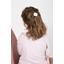 Shell hair-clips white