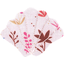 Barrette coquillage herbier rose - PPMC
