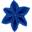 Star flower 4 hairslide navy blue - PPMC