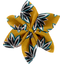 Star flower 4 hairslide aniseed star - PPMC