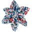 Barrette fleur étoile 4 london fleuri - PPMC