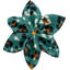 Star flower 4 hairslide jade panther - PPMC
