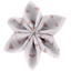Star flower 4 hairslide triangle cuivré gris - PPMC