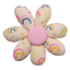 Fabrics flower hair clip rainbow - PPMC