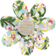 Fabrics flower hair clip menthol berry - PPMC