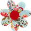 Fabrics flower hair clip  corolla - PPMC
