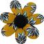 Barrette fleur marguerite etoile anisée - PPMC