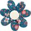 Pasador flor margarita  fleuri nude ardoise - PPMC