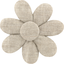 Pasador flor margarita   - PPMC