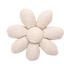 Pasador flor margarita  lino brillo - PPMC