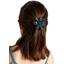 Fabrics flower hair clip fireflies