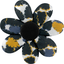 Fabrics flower hair clip  melting plum' - PPMC