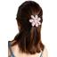 Fabrics flower hair clip rosary