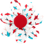 Pasador flor margarita  swimswim - PPMC