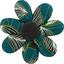 Fabrics flower hair clip   végétalis - PPMC
