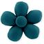 Mini flower hair slide bleu vert - PPMC