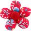 Pasador mini flor aciano cherry - PPMC