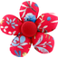 Petite barrette mini-fleur bleuets cherry - PPMC