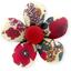 Petite barrette mini-fleur coquelicot - PPMC