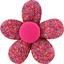 Pasador mini flor azafrán grosella - PPMC