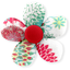 Mini flower hair slide powdered  dahlia - PPMC