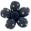Mini flower hair slide etoile or marine  - PPMC