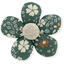 Pasador mini flor fleuri kaki - PPMC