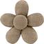 Pasador mini flor lino oro - PPMC