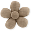 Mini flower hair slide copper linen - PPMC