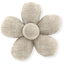 Mini flower hair slide  glitter linen - PPMC