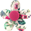 Mini flower hair slide spring