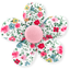 Mini flower hair slide rosary - PPMC