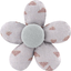 Mini flower hair slide triangle cuivré gris - PPMC