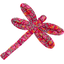 Dragonfly hair slide currant crocus - PPMC