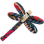 Dragonfly hair slide fireworks - PPMC