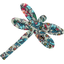 Dragonfly hair slide flower mentholated - PPMC