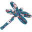Dragonfly hair slide fleuri nude ardoise - PPMC