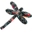 Dragonfly hair slide grasses - PPMC