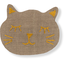 Meow hair slide gold linen - PPMC