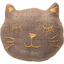 Meow hair slide copper linen - PPMC
