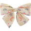 Bow tie hair slide rainbow - PPMC