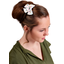 Bow tie hair slide sea side