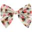 Barrette noeud papillon confetti aqua - PPMC