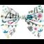 Barrette noeud papillon contes et légendes - PPMC