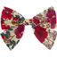 Bow tie hair slide poppy - PPMC