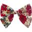 Barrette noeud papillon coquelicot - PPMC