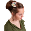 Bow tie hair slide summer sweetness