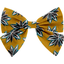 Bow tie hair slide aniseed star - PPMC