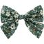 Bow tie hair slide fleuri kaki - PPMC